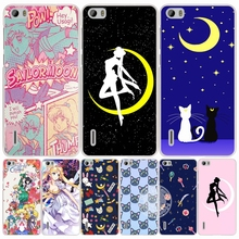 Sailor Moon sailormoon girl crystal cell phone Cover Case for huawei honor 3C 4A 4X 4C 5X 6 7 8 Y6 Y5 2 II Y560