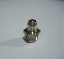 LOT 20 M8x1mm Metric male Thread Taper Straight Brass Grease Zerk Nipple Fitting For machine tool greaseing accessory