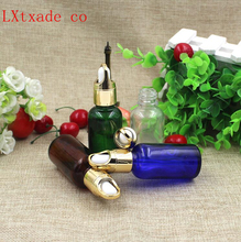 30ml Empty Essential Oil Glass Dropper Bottles New Style Top Grade Parfume Liquid Packaging Cosmetic Containers Retail Wholesale