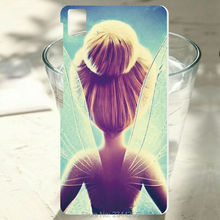 1PCS For BQ Aquaris E5 case  tinkerbell tumblr Painted design cover hard PC white plastic phone case For BQ E6 M5 X5 plus