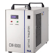 water cooler for CO2 Laser Machine laser industrial chiller for Laser Cutting and Engraving
