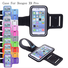 PIERVES high quality fashion GYM Workout Sport Running Bag Cover Shield Case for Doogee X9 Pro X9Pro(China)
