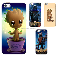 Guardians of the Galaxy Rocket Raccoon Groot case for iphone 5 5G 5S protective Hard case for iphone cell phone cases