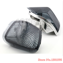 For KAWASAKI ZZR 400 1990-1992 Motorcycle Front Turn signal Blinker Lens Smoke