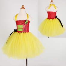 Robin Sidekick Hero Tutu Dress Tulle Character Costume Birthday Dance Recital Dress Pageant Wear Size 2T to Big Girl 12 Years