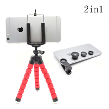 KRY 2in1 fish eye Fisheye Lentes 3 in 1 lens for iPhone 5s Fish Eye Fisheye Macro lens iPhone 5 SE 6s 6 7 Plus Camera lenses
