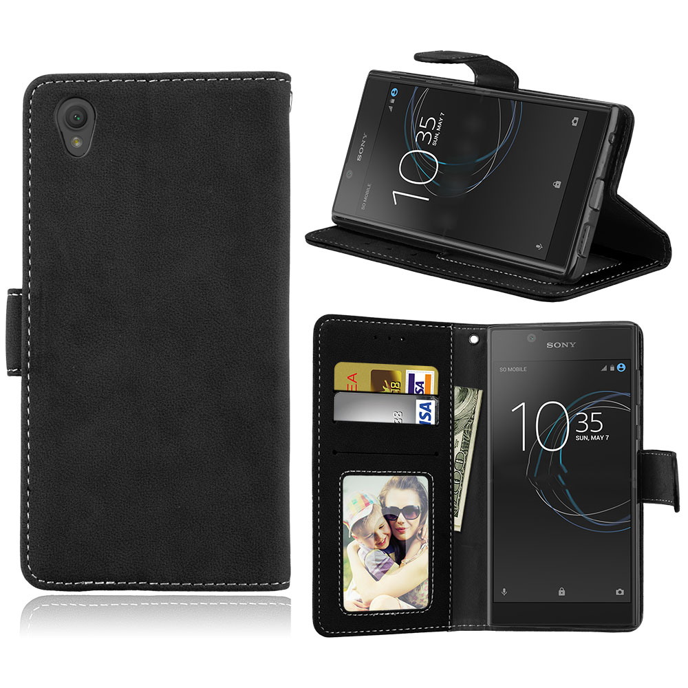 PU Leather Phone Cases Sony Xperia L1 Sony L1 G3311 G3312 G3313 Sony Xperia E6 Dual 5.5 inch Covers Phone Bags Sony E6
