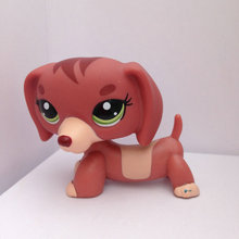Pet Shop Animal Doll LPS Figure Child Toy Gril Dachshund  Dog  DWA350