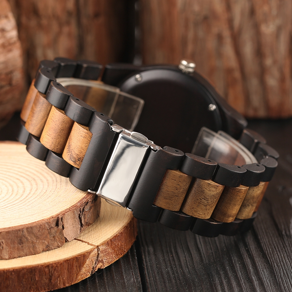 Men\`s Retro Full Wooden Creative Watch Man Quartz Novel Wood Sports Watches Mens Genuine Leather Hour Clock Gifts Reloj Hombre (10)