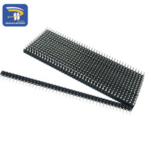 40P female header 10pcs 1x40 Pin 2.54 Round Female Pin Header connector for DS18B20 and Crystals and PCB