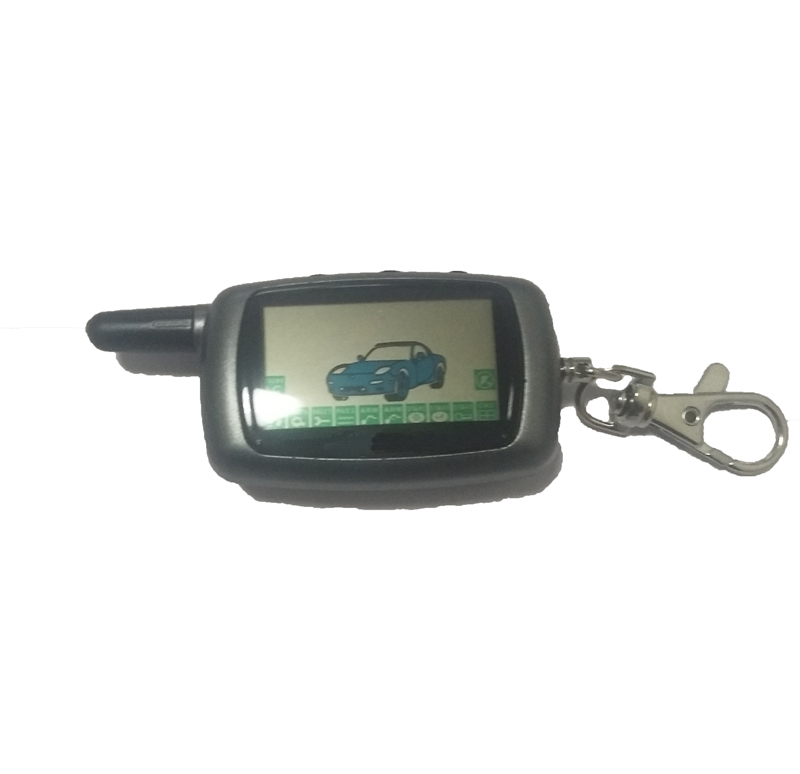 Chemeimei Remote-Controller Keychain Car-Alarm-Systems Two-Way LCD A8 for Twage A8/A6 title=
