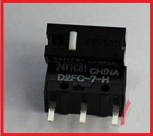 2pcs Micro Switch OMRON D2FC-7-H 0.98N 8 Million times For Apple G6 Microsoft Logitech R azer Mouse