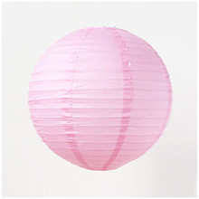 "6pcs 8"" 20CM Pink Chinese Paper Lantern Wedding Lantern Festival Decoration"
