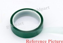 10mm*33 meters*0.08mm One Face Thermal Withstand Adhension PET Polyester Film Tape for Shielding Golden Terminals