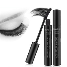 New Arrival Brand New 3D Black Eye Mascara Long Eyelash Silicone Brush Curving Lengthening Mascara Waterproof Makeup Focallure