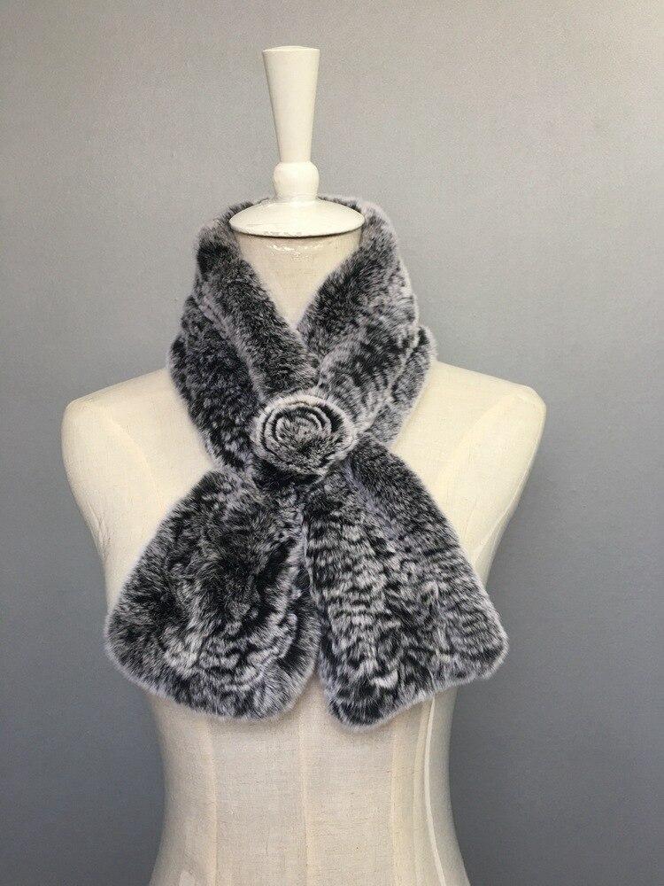 natural rabbit fur scarves (2)