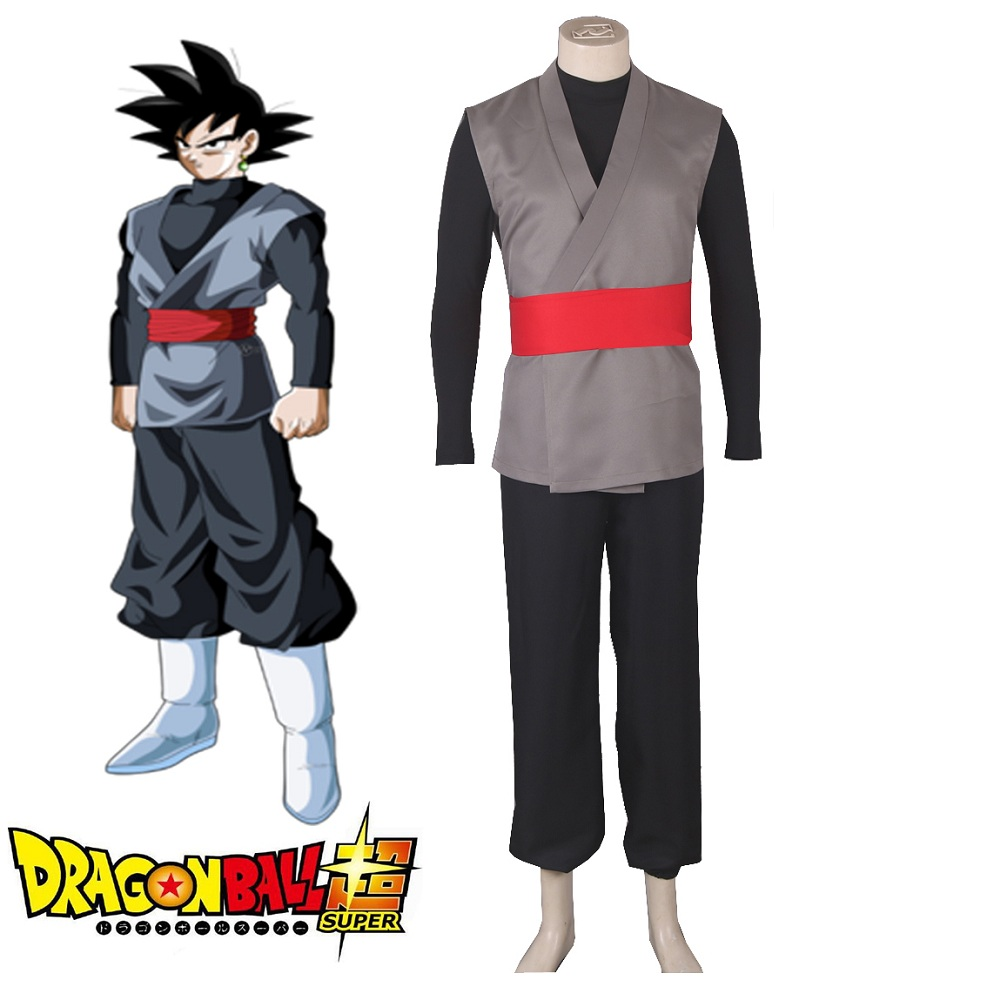 High-Q Unisex Anime Dragon Ball Zamasu Goku Black Cosplay Costume Sets