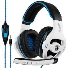 Attrezzature di gioco competitivo SADES SA819 Gaming Headset Nuovo Per Xbox  One PS4 PC 962f410258ea
