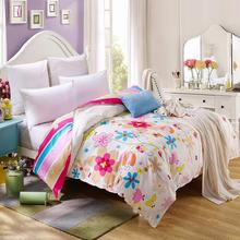 1PCS duvet cover/ quilt cover/comforter cover 100% Cotton single double queen king blanket cover without filling