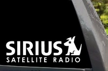 Car Styling For Sirius XM Radio Logo Car Window Truck Laptop Vinyl Decal Sticker 01(China)