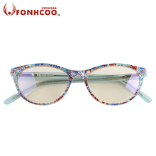 2017 New fashion Ladies lace glasses Anti blue ray Radiation protection Anti eye fatigue Pattern type computer gaming goggles