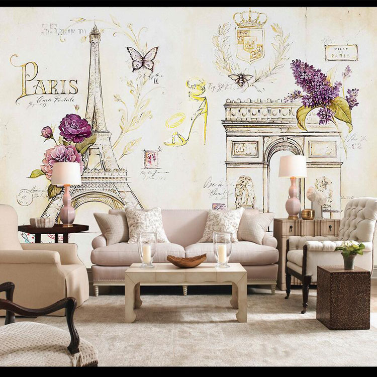 . Buy tower eiffel wallpaper and get free shipping on AliExpress com