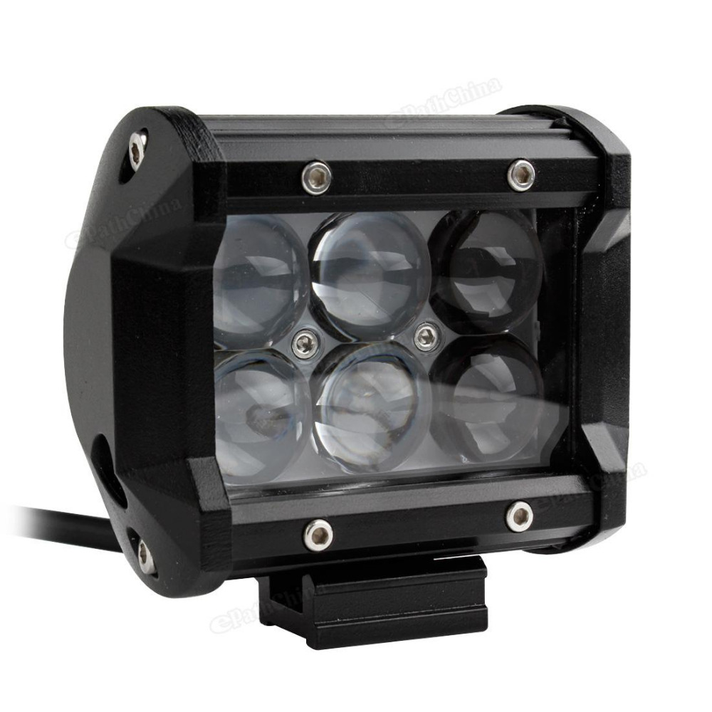 Brand New 4 Inch Vehicle 30W 2550LM LED Work Spot Light Bar 4WD ATV Off-road SUV Driving Lamp Car Headlight<br><br>Aliexpress
