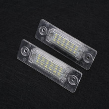 Car Vehicle 18 LED Number License Plate Light Lamp For VW Touran Passat