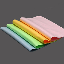 5 pcs/lots High quality Chamois Glasses Cleaner 150*175mm Microfiber Glasses Cleaning Cloth For Lens Phone Screen Cleaning Wipes(China)