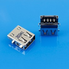 Jing Cheng Da NEW USB female jack connector USB Port for Laptop SAMSUNG HP etc US-090(China)
