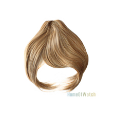 17cm Fashion New Golden Bangs Extension Synthetic Fringe Hair Piece (NWG0HE61082-GO2)