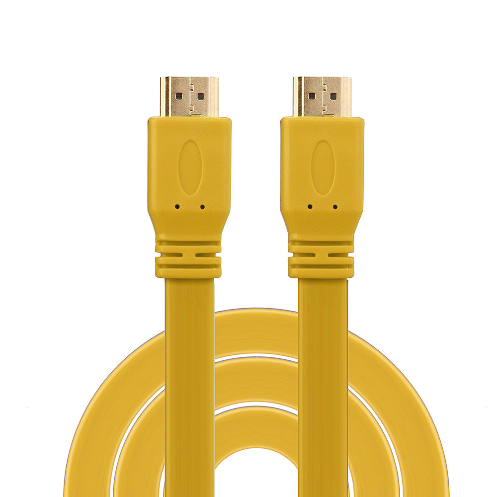 HIPERDEAL HDMI Cable 1.5M For PS3 DVD HDTV XBOX LCD HD TV 1080P Flat Cable Oct27