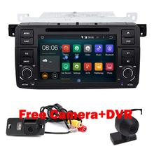 "7"" digital Touch Screen car pc android 5.1 for BMW E46 M3 Wifi 3G 1024*600  Bluetooth Radio USB SD Steering wheel Canbus"