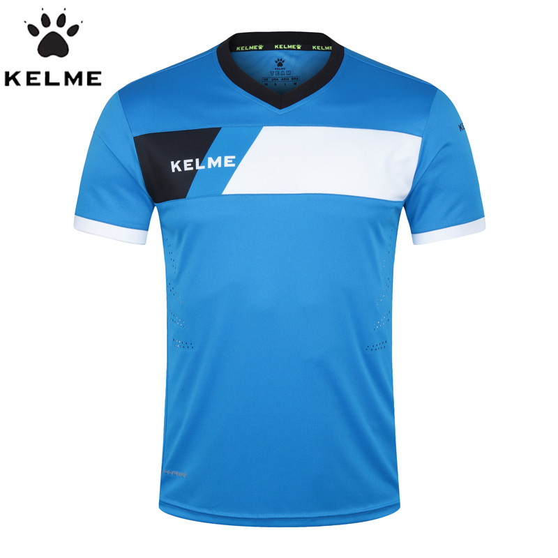 KELME Official Authentic Spain Men's Football Jerseys Maillot De Foot Training Soccer Jerseys 2017 Survetement Football Shirt(China (Mainland))