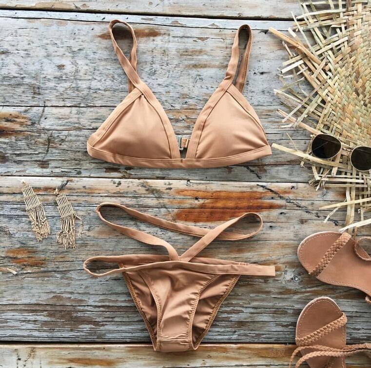 2017 Sexy Brazilian Bikini Swimwear Women Swimsuit Bathing Suit Biquini Bikini Set Bandage Swim Suit Maillot De Bain Femme<br><br>Aliexpress