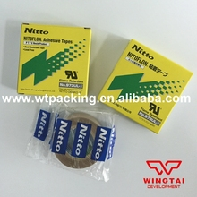 10pcs/T0.13mm*W19mm*L10m Heat resistance NITTO DENKO Silicone Adhesive Tapes 973UL-S
