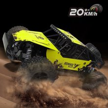 Buy Radio-controlled Cars 2WD 2.4GHz Crawler 1/16 Electric Dirt Bike Road 20KM/H Monster Machine Remote Control RC Car for $41.03 in AliExpress store