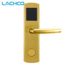 LACHCO Electronic Card Lock Smart Digital Card Door Lock US Mortise Stainless Steel Free-Style Handle L16041SG(China)