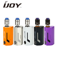 100% Original IJOY MAXO Zenith VV Box MOD 300W RDTA 5 Tank 4ml Resin Drip Tip Bottom Adjustable Airflow e-Cig Vape Kit - VapeOnly e-Cigarettes store