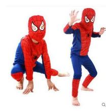 Boys Halloween Costumes Spider-Man  Sets Cosplay Stage Wear Clothing Spiderman Children Kids Party Clothes Superhero superman