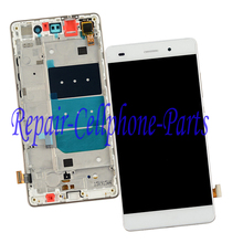 New White Full LCD DIsplay + Touch Screen Digitizer + Frame Cover Assembly For Huawei P8 Lite ALE-L04 L21 TL00 L23 CL00 L02 UL00(China)
