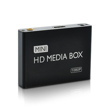 New Mini HDMI Media Player 1080P Full HD TV Video Multimedia player box support MKV/RM-SD/USB/SDHC/MMC HDD-HDMI for Car Home use