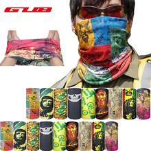 GUB New Brand Bicycle Magic Headband Outdoor Sports Neck Warmer Cycling Face Mask Bike Head Scarf Scarves Camouflage Masks(China)