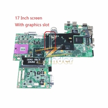 CN-0UK435 UK435 for dell inspiron 1720 laptop motherboard 17'' 965PM DDR2 with graphics slot