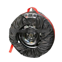 Spare Tyre Cover Garage Tire Case Polyester Winter Summer Car Tires Storage Bag Auto Tyre Accessories Vehicle Wheel Protector