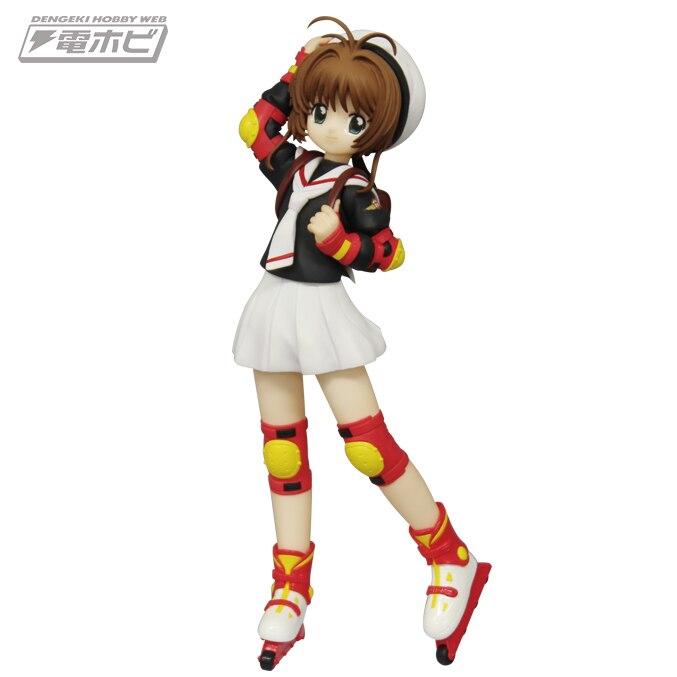 17cm SEGA Japanese original anime figure CARDCAPTOR SAKURA KINOMOTOSAKURA In Uniform action figure collectible model toys for bo<br>