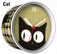 [In Stock] Cat Magnetic Cheap Wall Clocks,Cheap Desk Clocks,Cheap Table Function Clocks in Free Shipping
