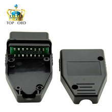 Factory price OBD Male Plug OBD2 16Pin Connector OBD II Adaptor OBDII Connector J1962 OBD2 Connector in stock