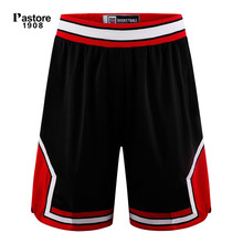 Pastore1908 summer basketball shorts quick dry running sportswear breathable europe size S-3XL custom jersey shorts balck 309B