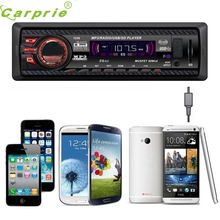 CARPRIE Super drop ship Car Audio Stereo In Dash FM With Mp3 Player USB SD Input AUX Receiver 1238 Mar713